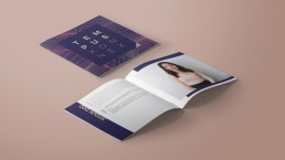 Broschüre; Printdesign für TempusKonnex