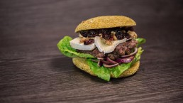 Cranberry Burger, Food Photography