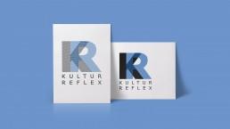 Zwei Logodesigns für die Firma Kultur Reflex